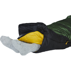 Nordisk Gormsson -20° Mummy Sleeping Bag M artichoke green/mustard yellow/black